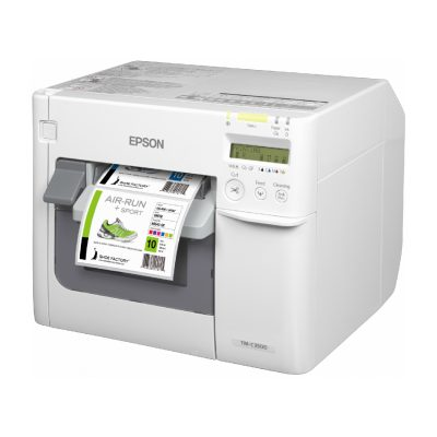 TM C3500 Epson Color Barcode Label Printer