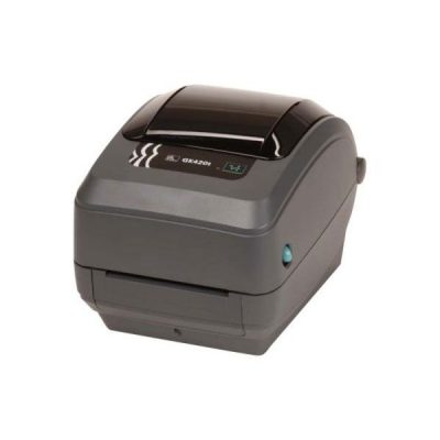 GK420T Ethernet Dispenser Gk42-102221-000 Zebra Barcode Printer
