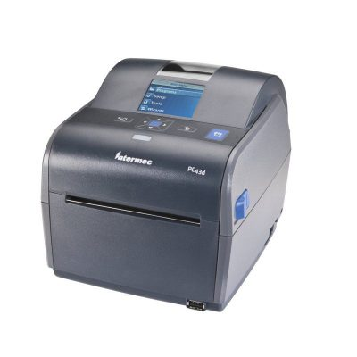 PC43T Honeywell/Intermec Barcode Label Printer With LCD Screen PC43TB00100202